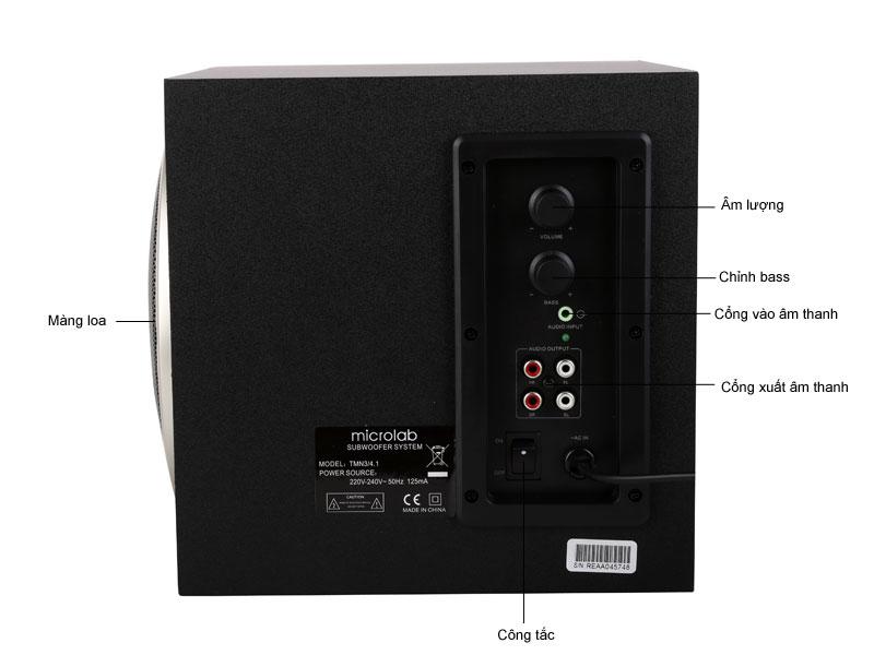 Loa Microlab M900 (TMN3 4.1)