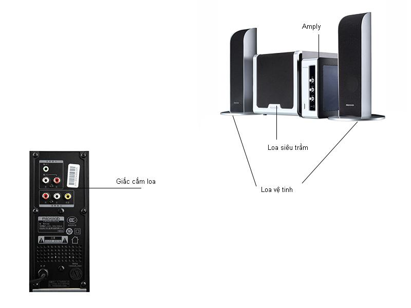 Loa Microlab FC361 2.1