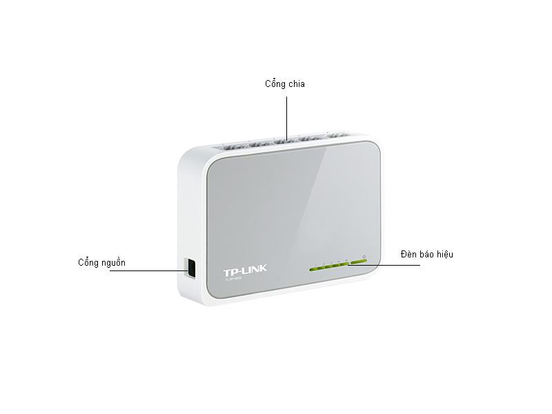 Bộ chia mạng Tplink 5-ports 10 100M-TLSF1005D