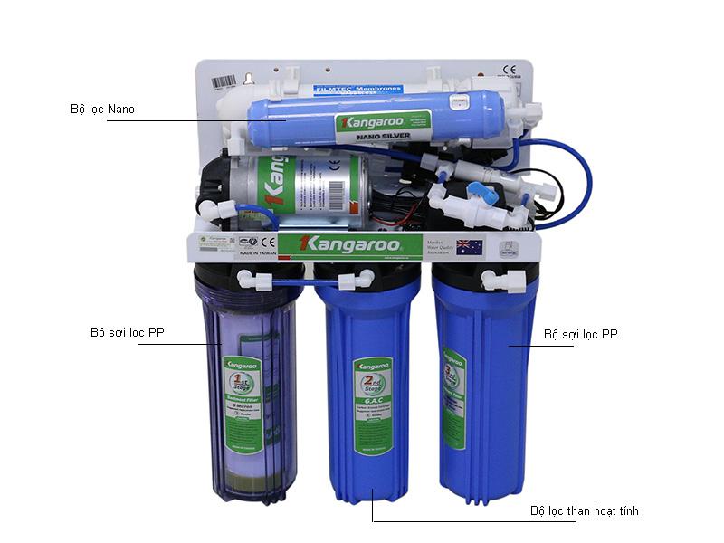 Máy lọc nước KANGAROO KG102MH