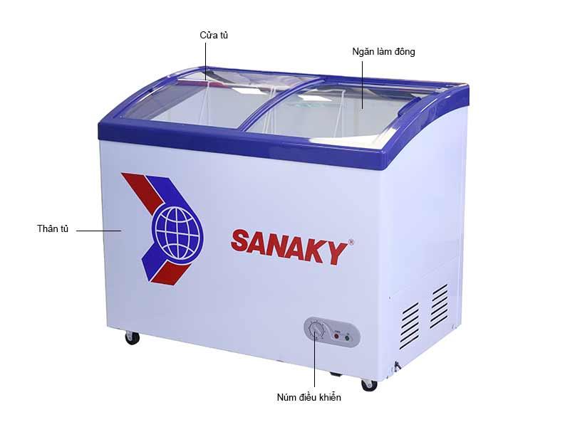 Tủ Đông Sanaky VH302K 260 Lít
